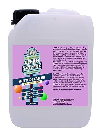 Clean Extreme 2,3 l Auto Detailer con aroma de burbuja ...