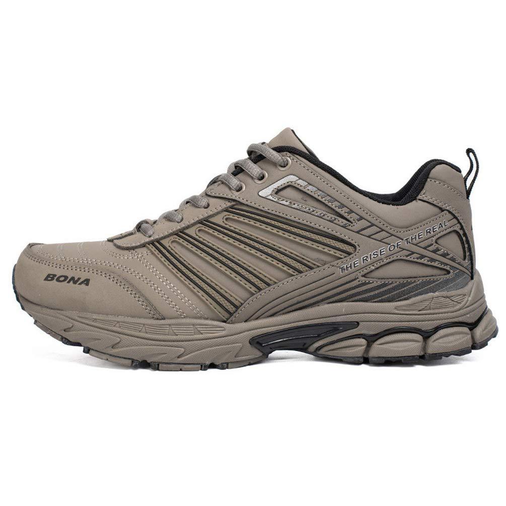 Qianliuk Männer Laufschuhe Outdoor Wandern Jogging Schuhe Komfortable Turnschuhe Schnüren Sportschuhe für Männer