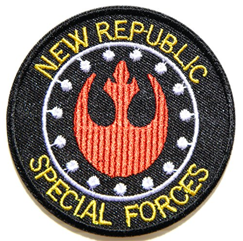 Imperial Walker Dog Costume For Sale (New Republic Special Forces Star Wars Cartoon Comic Logo Patch Sew Iron on Embroidered Applique Collection Costumes DIY By PatchPrimum)