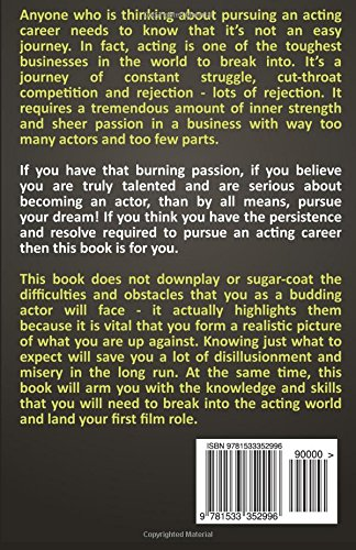 How to become an actor the beginners guide to becoming an actor how to become an actor the beginners guide to becoming an actor and getting that first role melissa kennedy 9781533352996 amazon books fandeluxe