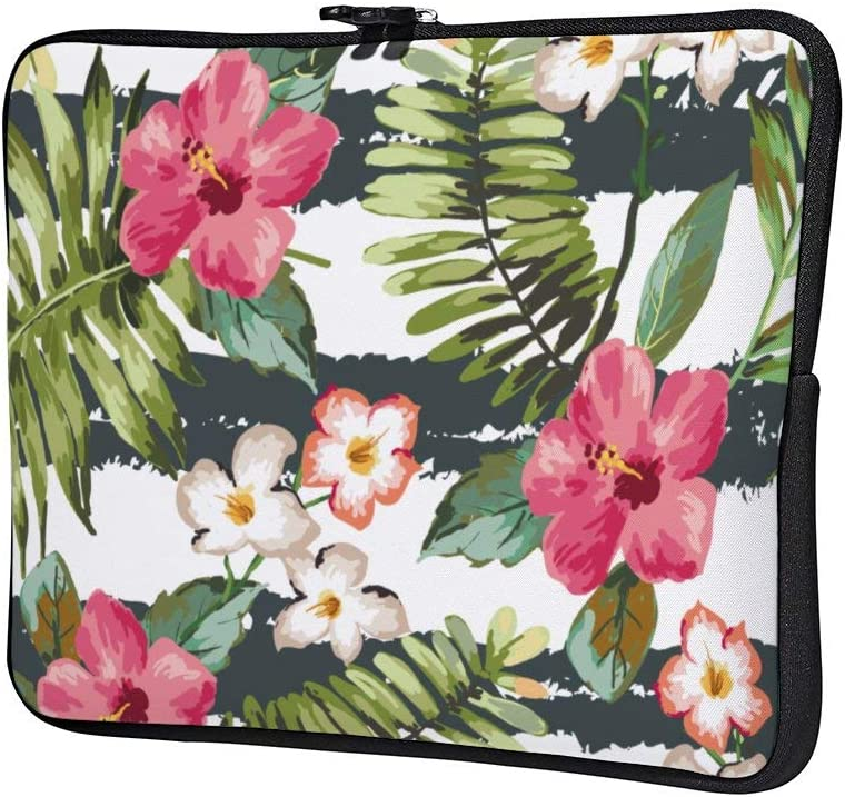Flowers Plum Blossom Birds On Tree Romance Neoprene 12 Inch Laptop Sleeve Case Protective Cover Carrying Bag for 9.7 10.5 iPad Pro Air// 10 Microsoft Surface Go// 10.5 Samsung Galaxy Tab