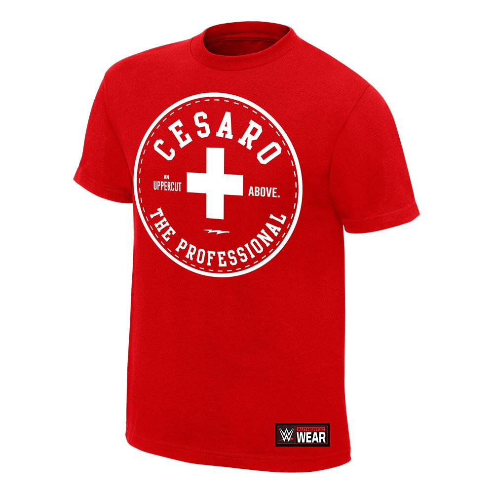Cesaro ''The Professional'' Authentic T-Shirt, XL [Apparel] by Official WWEShop Authentic