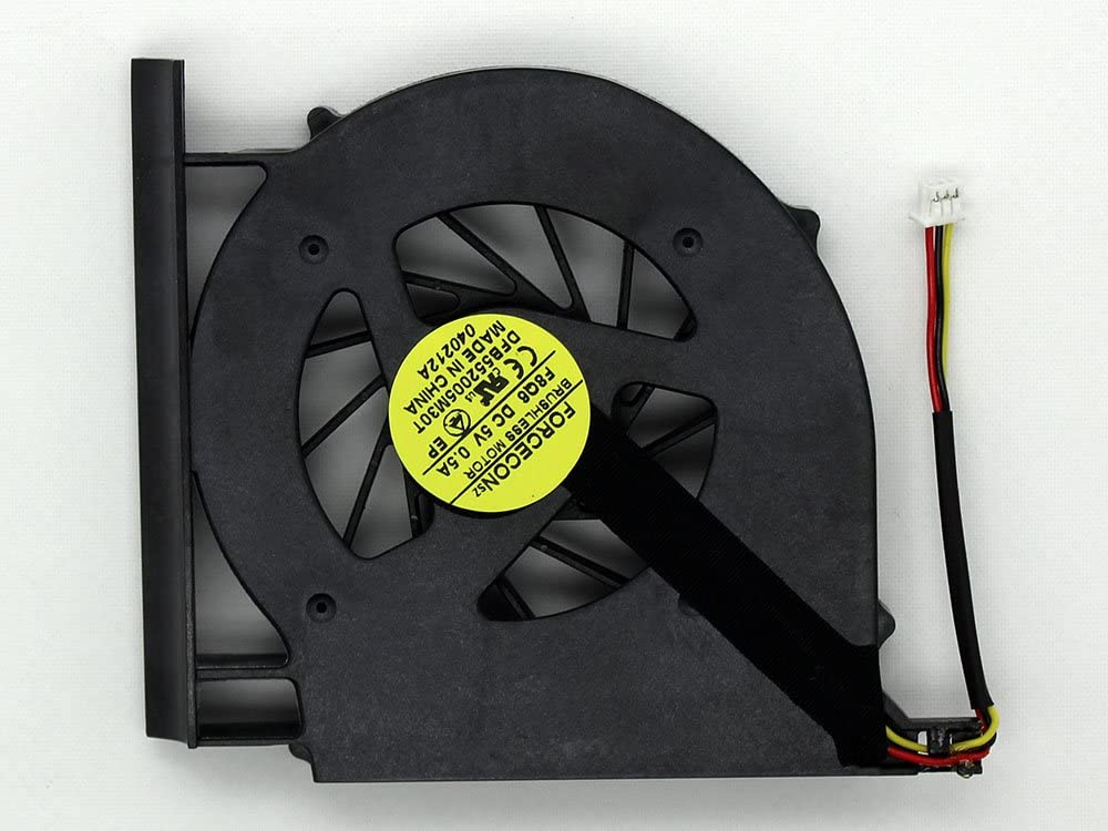 iiFix New Replacement CPU Cooling Fan For Compaq Presario CQ61-411WM CQ61-412AX CQ61-412EO CQ61-412EZ CQ61-412NR CQ61-412SL CQ61-413SL CQ61-413SO Assembly
