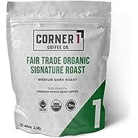 Corner One Coffee Fair Trade *签名烘焙全豆,*,2.5 磅