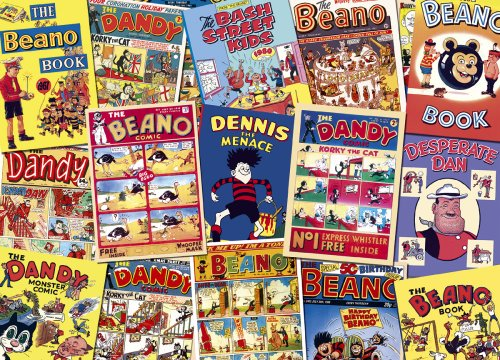 Gibsons Puzzle - Beano & Dandy - The Golden Years (1000 Pieces)