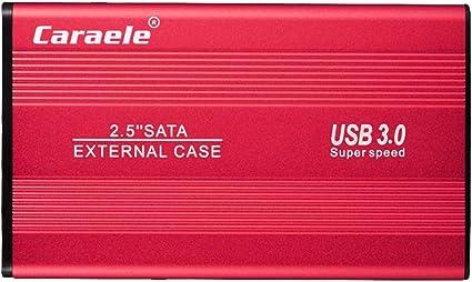 gazechimp 外付け ハードドライブ USB3.0 2.5インチ HDDエンクロージャー 金属 - 2T