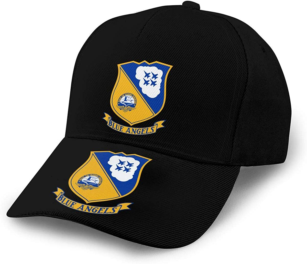 US Navy Blue Angels Unisex Adult Hats Classic Baseball Caps Peaked Cap