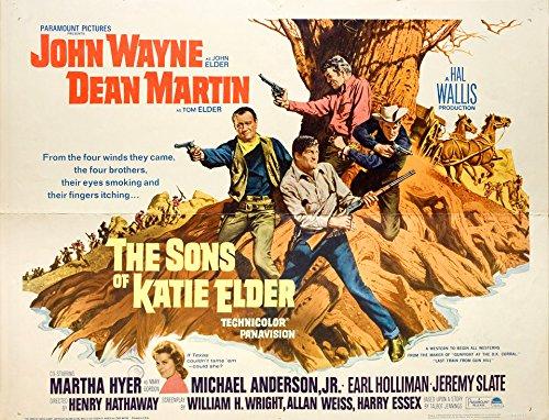 The Sons of Katie Elder 1965 U.S. Half Sheet Poster
