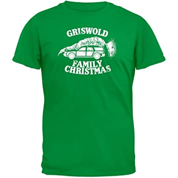 Christmas Vacation - Griswold Family Christmas Green T-Shirt, T ...