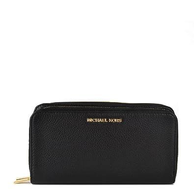 a16cdea1d0df MICHAEL by Michael Kors Adele Black Double Zip Wallet one size Black ...