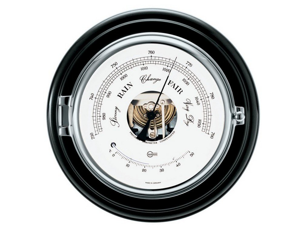 Barigo Marine Baro-Thermometer 1586CR