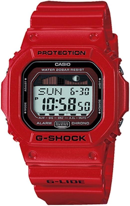 Montre G Shock Casio Rouge: Casio: : Montres  fho5G