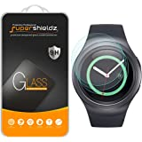 [3-Pack] Supershieldz for Samsung Gear S2/Gear S2 Classic Tempered Glass Screen Protector, Anti-Scratch, Anti-Fingerprint, Bubble Free, Lifetime Replacement Warranty