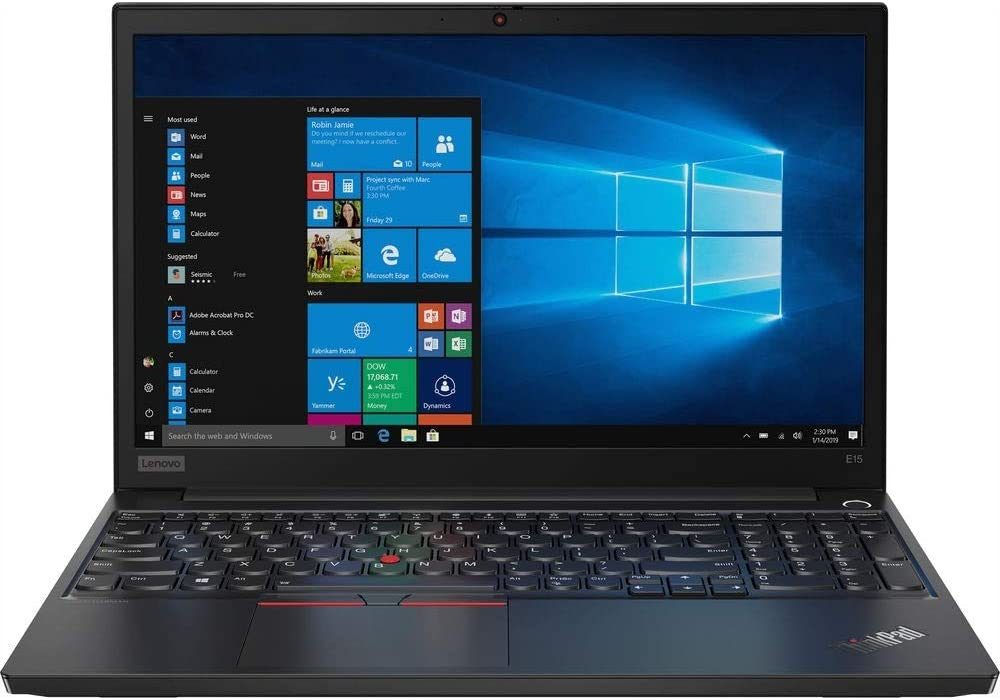 "Lenovo_ThinkPad_E15 Business Laptop (Intel i7-10510U, 32GB RAM, 1TB NVMe SSD + 2TB HDD, 15.6"" Full HD IPS, Windows 10 Pro) Professional Notebook Computer"