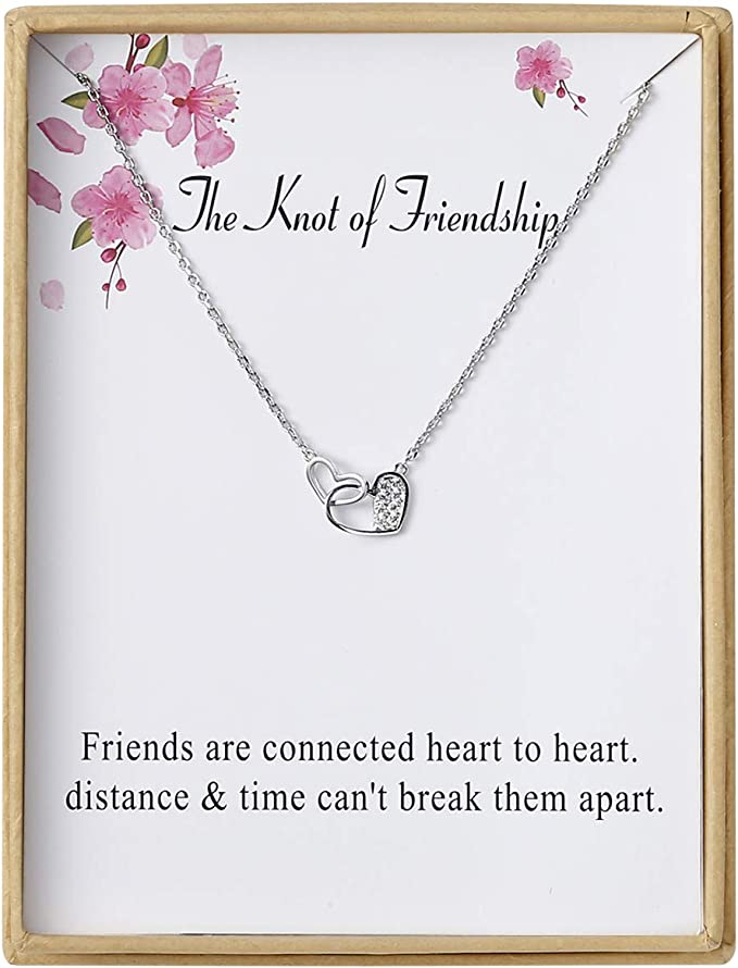 Amazon.com: Sannyra Knot of Friendship Collar con colgante ...