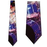 Drums tie Mens Neckties by Three Rooker