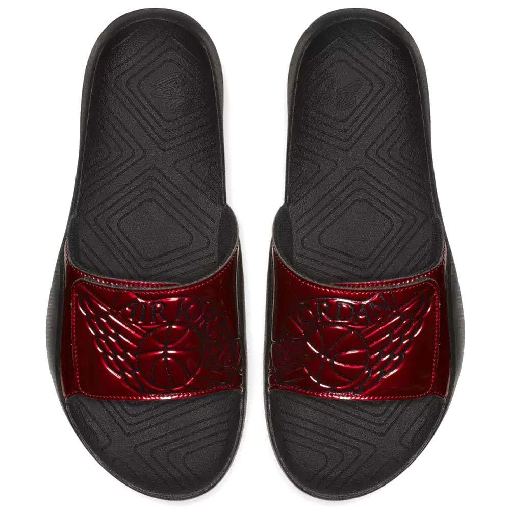 Nike Men's Jordan Hydro 7 Slide Sandals, AA2517 (8 D(M) US, Gym Red/Black)