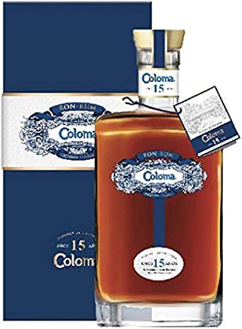 COLOMA 15 YEARS 40% 70 CL RUM COLOMBIA: Amazon.es ...