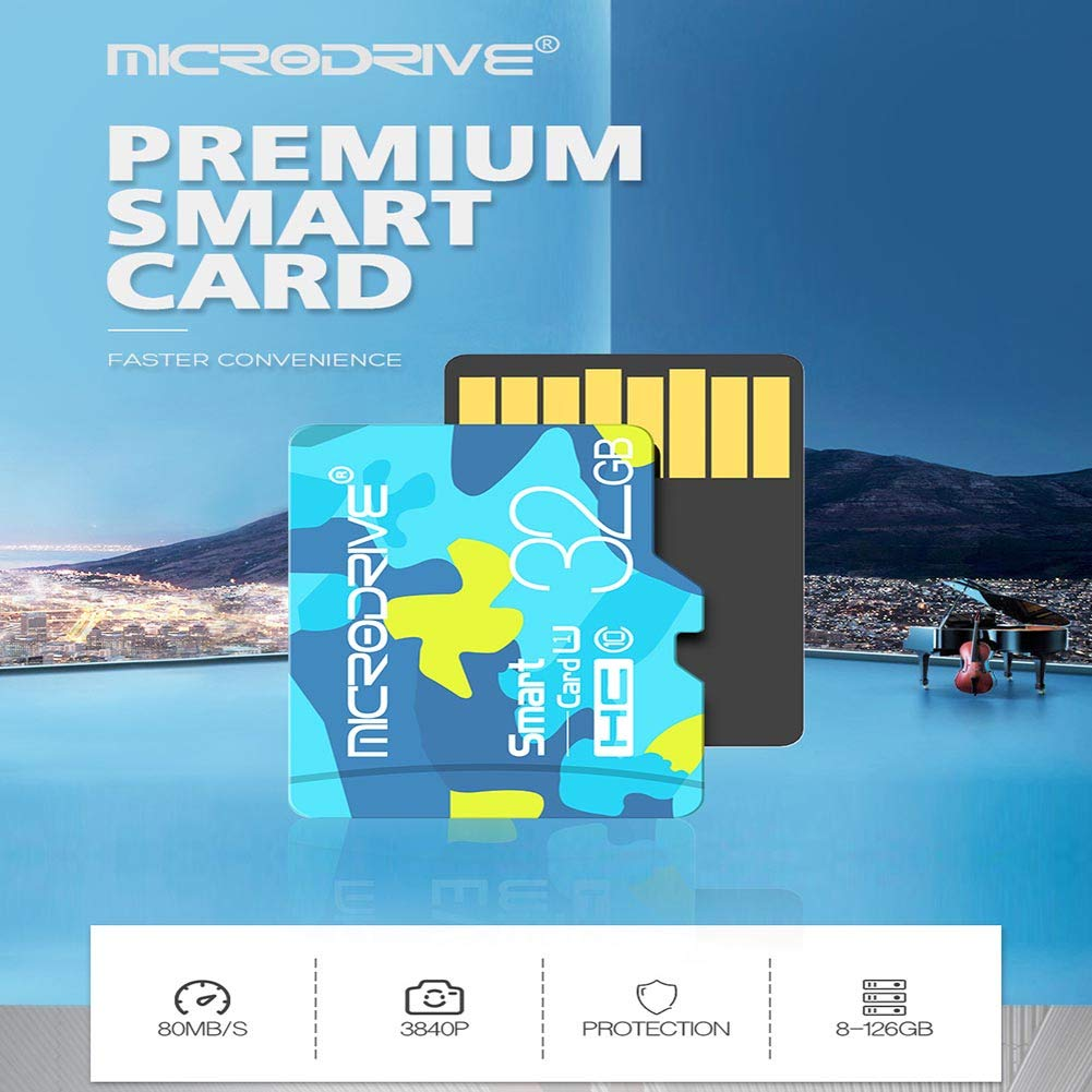Amazon.com : JLY Micro Sd Card 16GB 32GB Tarjeta Micro Sd ...