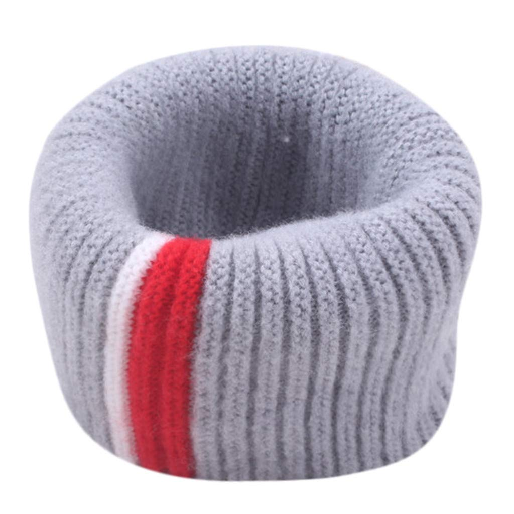 Thick Knitted Winter Warm Hot Fashion Toddler Girls Boys Loop Wraps Scarf Kids Infinity Scarf