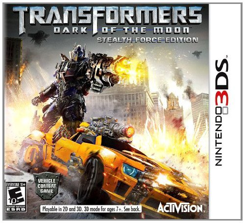 Transformers: Dark Of The Moon - Nintendo 3DS (Stealth Force) (3ds War Games)