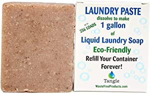 Tangie Laundry Soap Washing Detergent Bar - Perfect for Whole Family | Eco Friendly | Dissolve Each Bar to Make One Gallon
