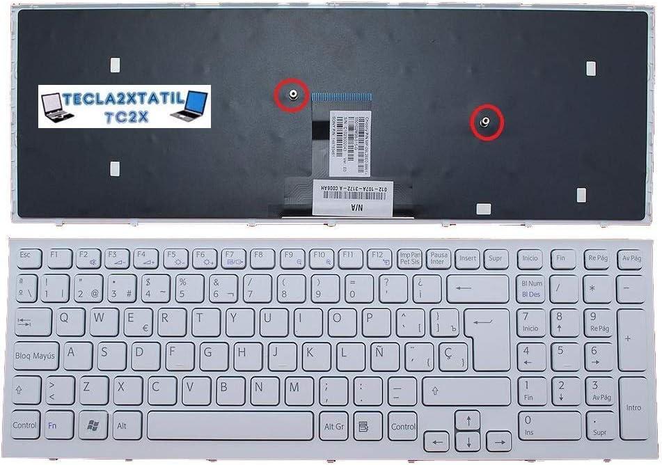 Teclado ESPAÑOL Compatible para PORTATIL Sony VAIO 148793461 ...