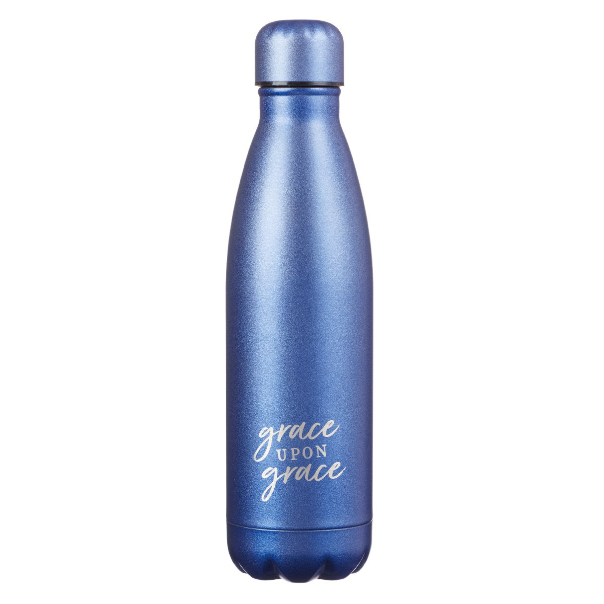 Stainless Steel Water Bottle: Grace Upon Grace