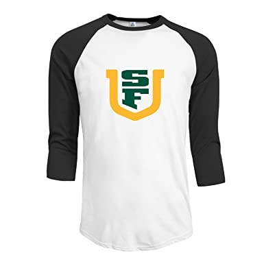quality design 83979 5c530 Amazon.com: Men's San Francisco Dons Unique 3/4 Sleeve ...