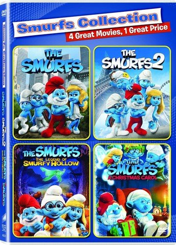 Smurfs 2, the / Smurfs, the (2011) - Vol / Smurfs, The: The Legend of Smurfy Hollow / Smurfs Christmas Carol - Set]()