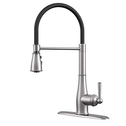 CLOFY Kitchen Faucet, kitchen faucets with pull down sprayer ...