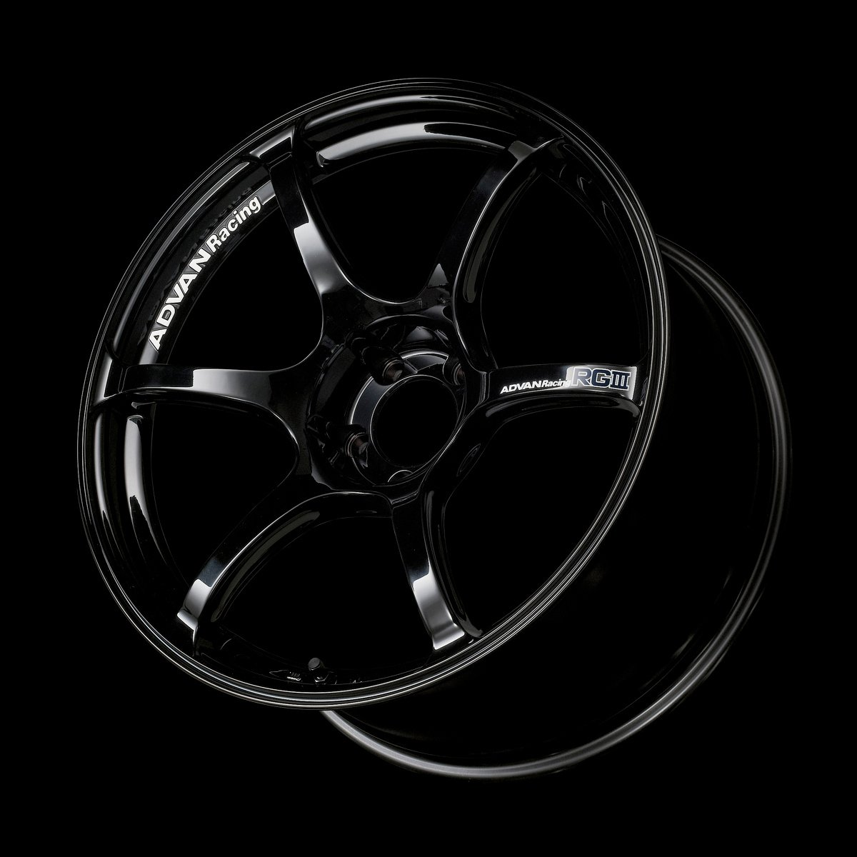 Demupai Car Wheels Sticker Decal for Advan RG2 Black RGII