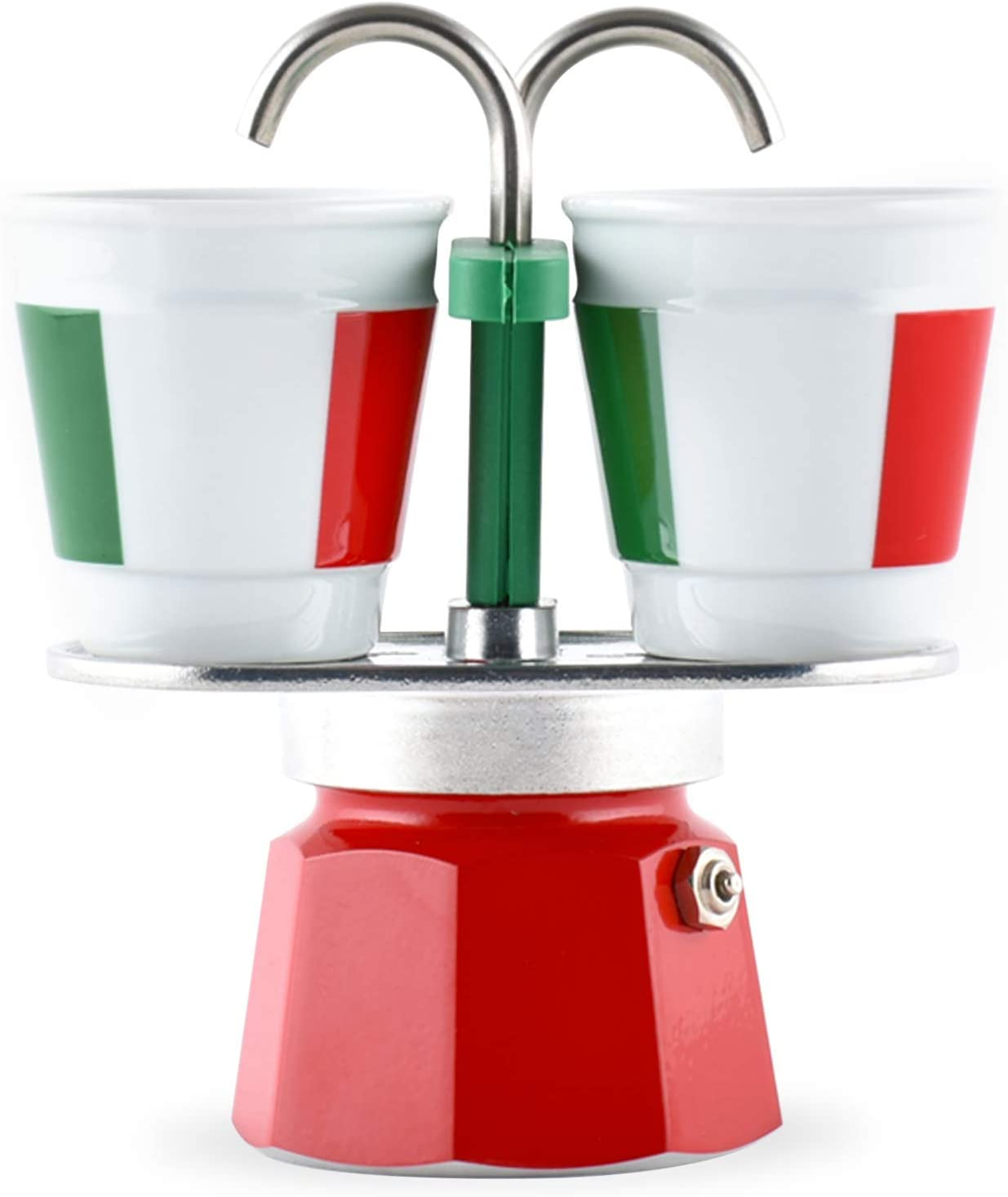 Bialetti – 0006196 – Cafetera italiana + 2 tazas Bicchierini ...