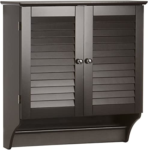 RiverRidge Ellsworth Collection Two-Door Wall Cabinet, Espresso