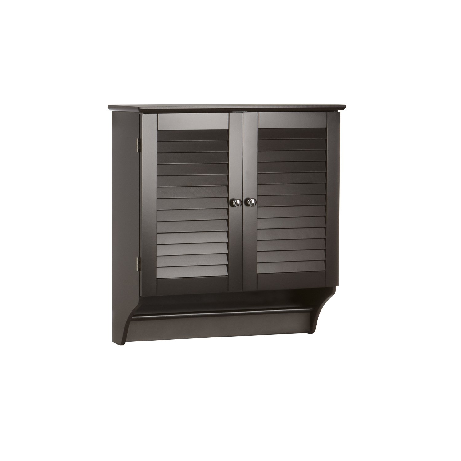 Bathroom storage wall cabinet - Amazon Com Riverridge Home Ellsworth Collection 2 Door Wall Cabinet Espresso Home Kitchen