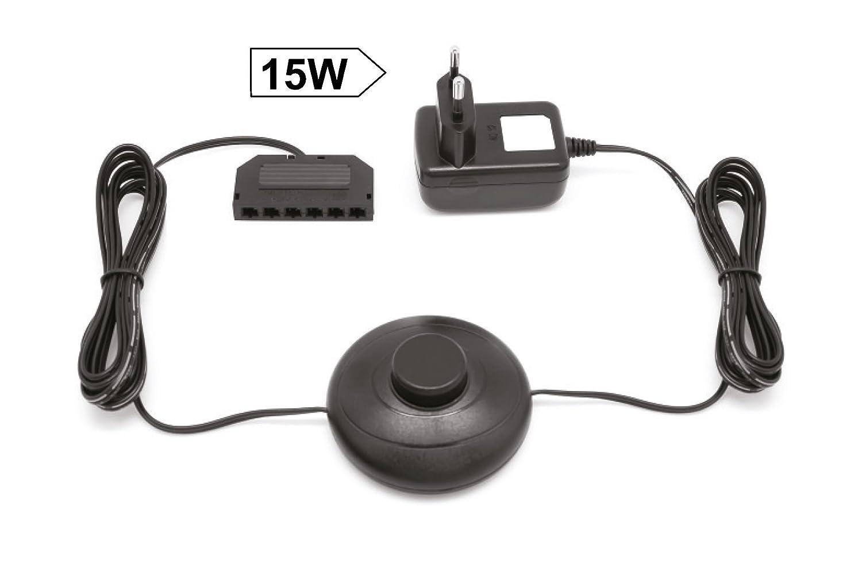 LED Transformator Driver Trafo Treiber 15 Watt passt f/ür unsere 12 Volt LED-Systeme