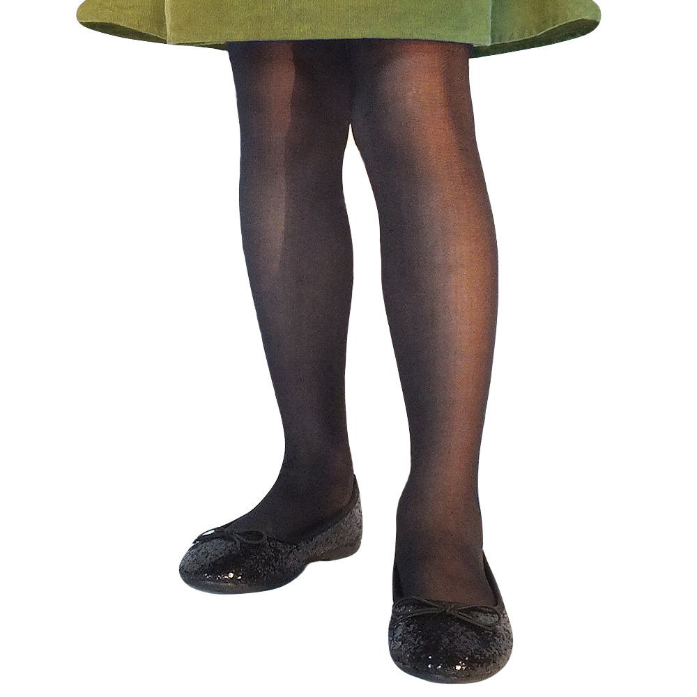 Country Kids Girls Sheer Dressy Footed Pantyhose Tights Pack of 2 009