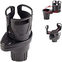 2 in 1 Multifunctional Car Cup Holder Extender Divided into Two Car Drink Cup Holder Size Adjustable Beverage HoldCarer…