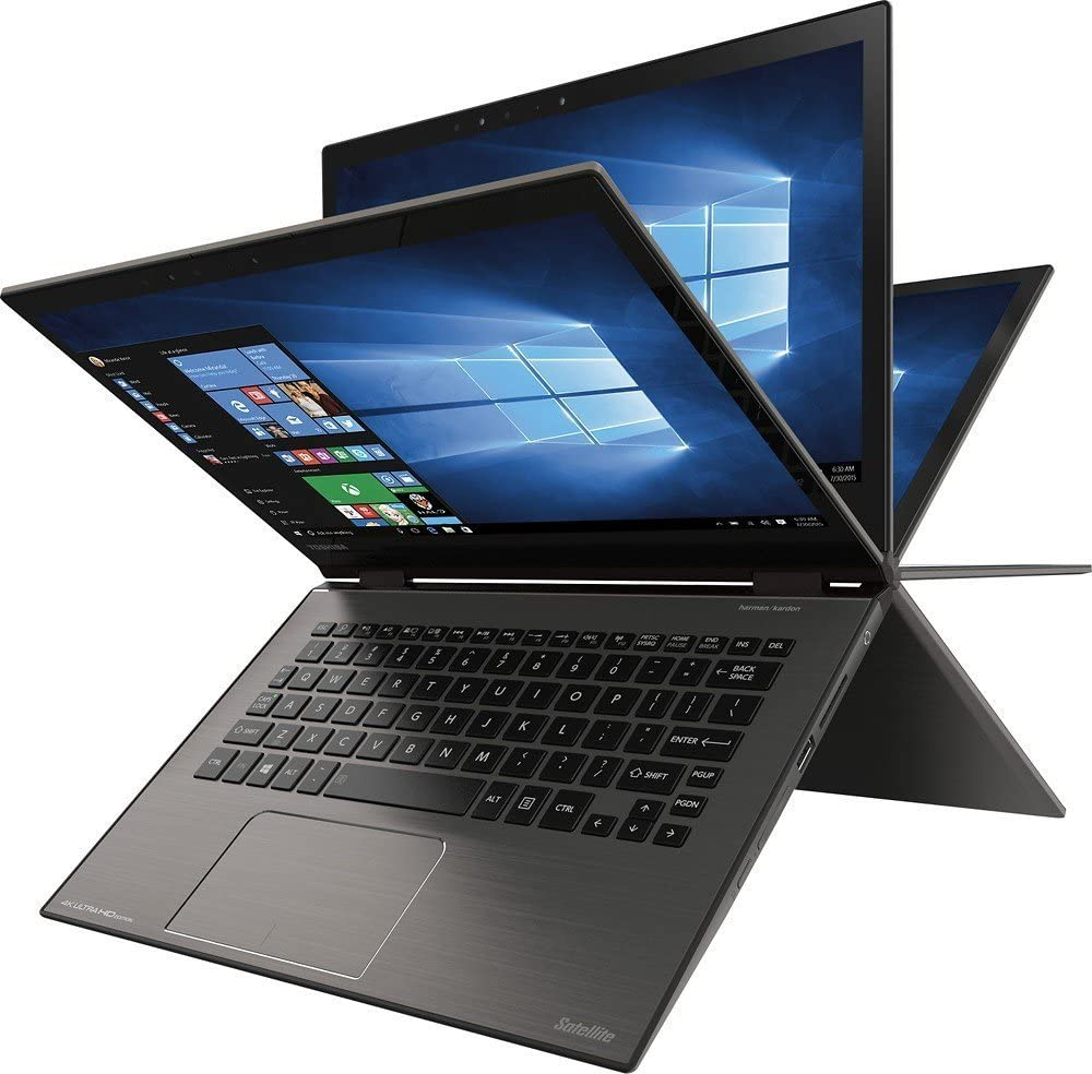 "Toshiba Satellite Radius 2-in-1 15.6"" 4k UltraHd Touch-screen Laptop - Intel Core I7 - 16gb Memory - 512gb Ssd - Carbon Gray"