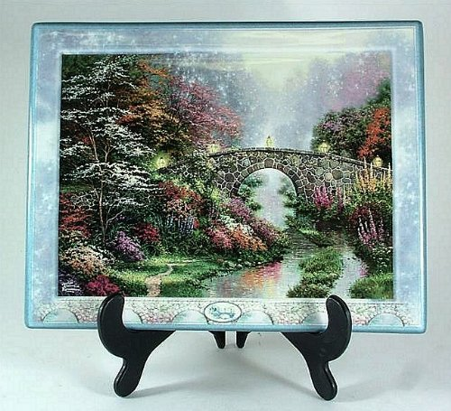 (Bradford Exchange Stillwater Bridge from Thomas Kinkade's Bridges of Life -)
