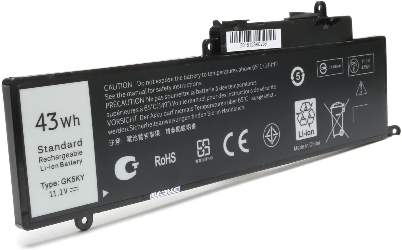 New 11-3157 GK5KY Battery Replacement for Dell Inspiron 11 13 15 3147 3148 3152 7348 7352 7558 7568 Fits 04K8YH 92NCT 092NCT 4K8YH P20T