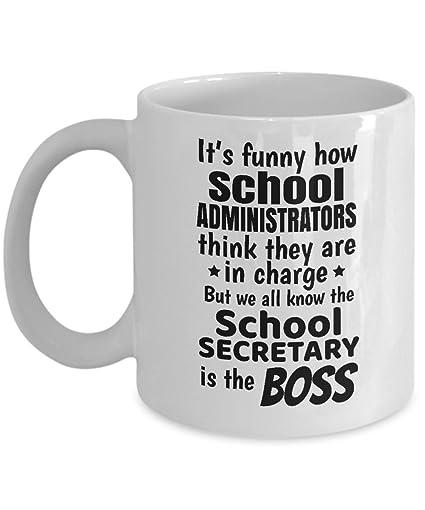 Amazoncom Funny School Secretary Secretaries Coffee Tea Gift Mug