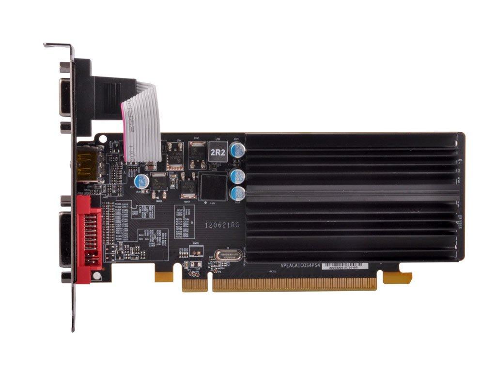 XFX AMD Radeon HD 5450 1GB GDDR3 VGA/DVI/HDMI Low-Profile PCI-Express Graphics Card HD545XZQH2;HD-545X-ZQH2
