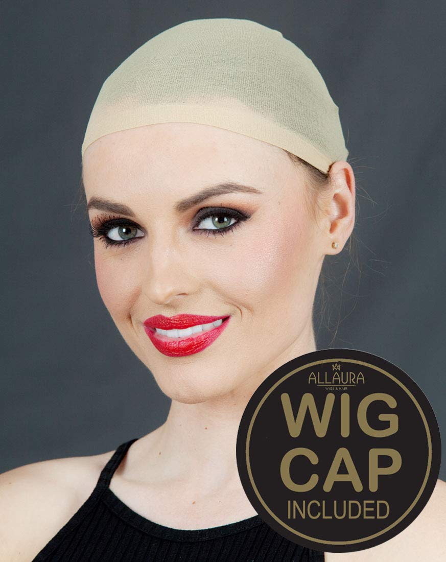 ALLAURA Long Hair Wig – Peggy Bundy Wig for 80's Costumes – Red Wigs for Women by ALLAURA (Image #3)