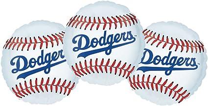 Set of 3 Baseball Sport 18 Foil Party Balloons