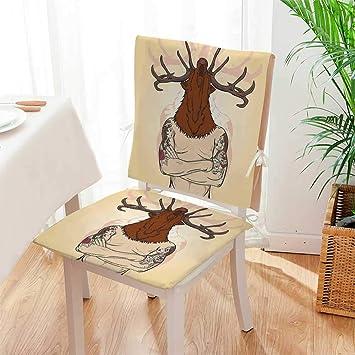 Amazon.com: Mikihome – Cojín de asiento náutico con diseño ...