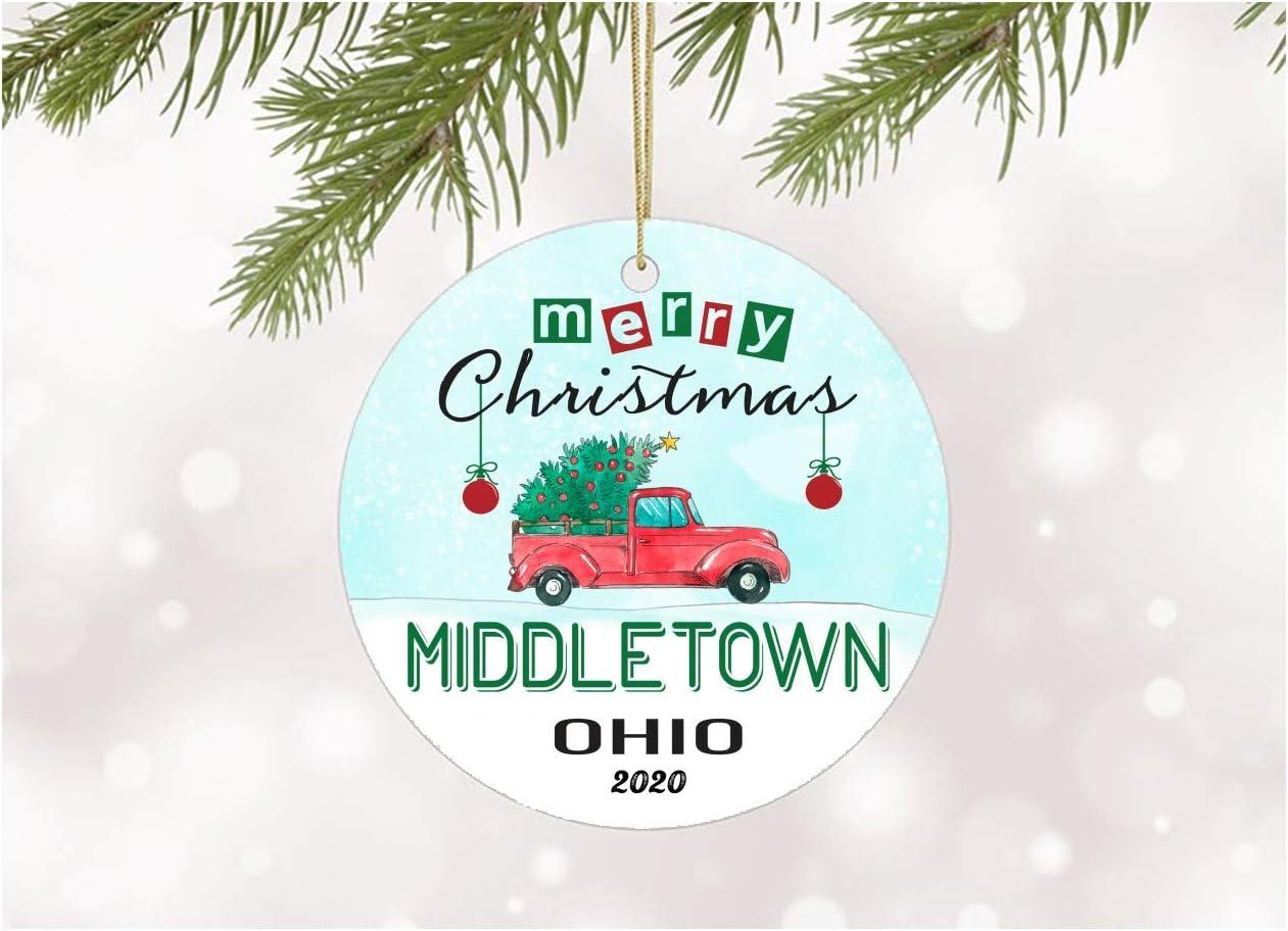Muddletown Christmas Home Tour 2020 Amazon.com: Christmas Ornaments Tree 2020 Middletown Ohio Xmas