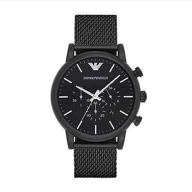 02c531bf9570 Reloj Emporio Armani - Hombre AR1968  Emporio Armani  Amazon.es  Relojes