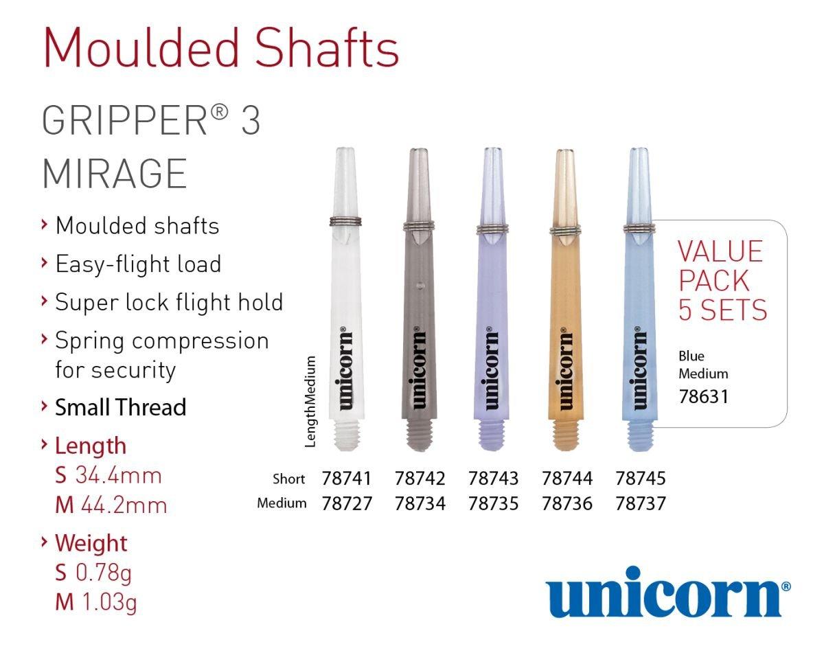 Unicorn Darts Gripper 4 Mirage Short Shaft