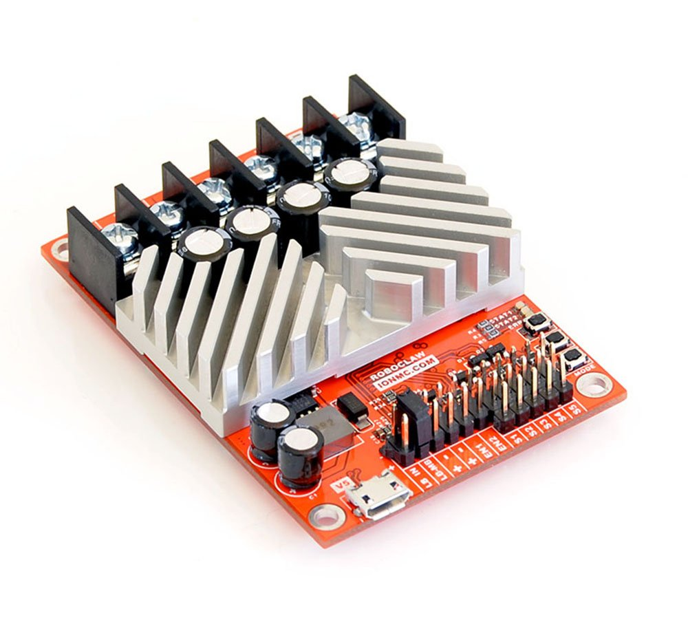 RoboClaw 2x30A Motor Controller, 2 Channel, 30Amps Per Channel, 6-34VDC by Ion Motion Control
